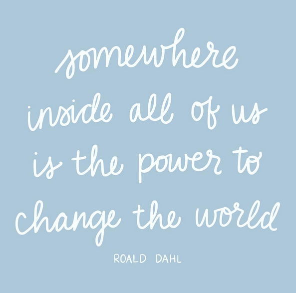 Fab Quote power to change the world